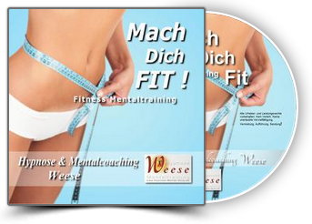 Fitness Mentaltraining CD & MP3 Download - Mach dich FIT