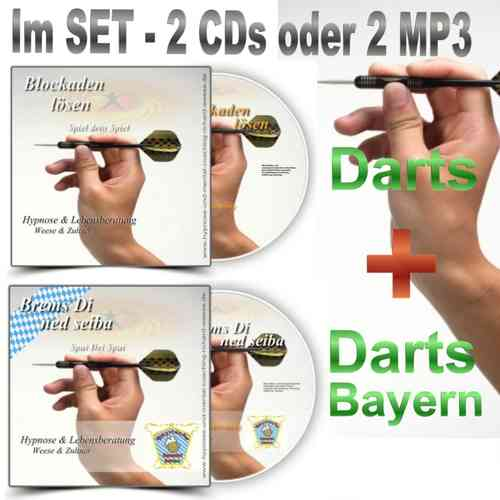 "Blockaden lösen ""Darts"" im SET - Hypnose CD & MP3 Download"